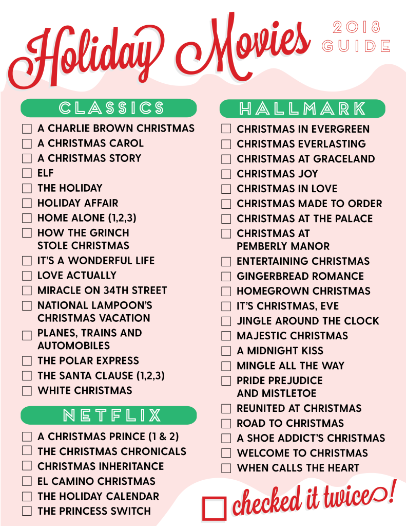 Your 2018 Holiday Movie and TV Guides! –